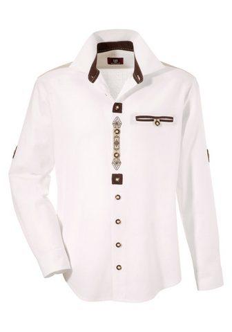 OS-TRACHTEN Tautinio stiliaus marškiniai im Landha...