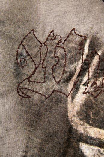 Trachtenshirt Herren mit Print, Hangowear