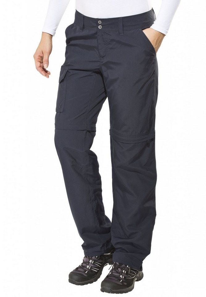 Columbia Outdoorhose »Silver Ridge Convertible Pant Women Regular« in blau