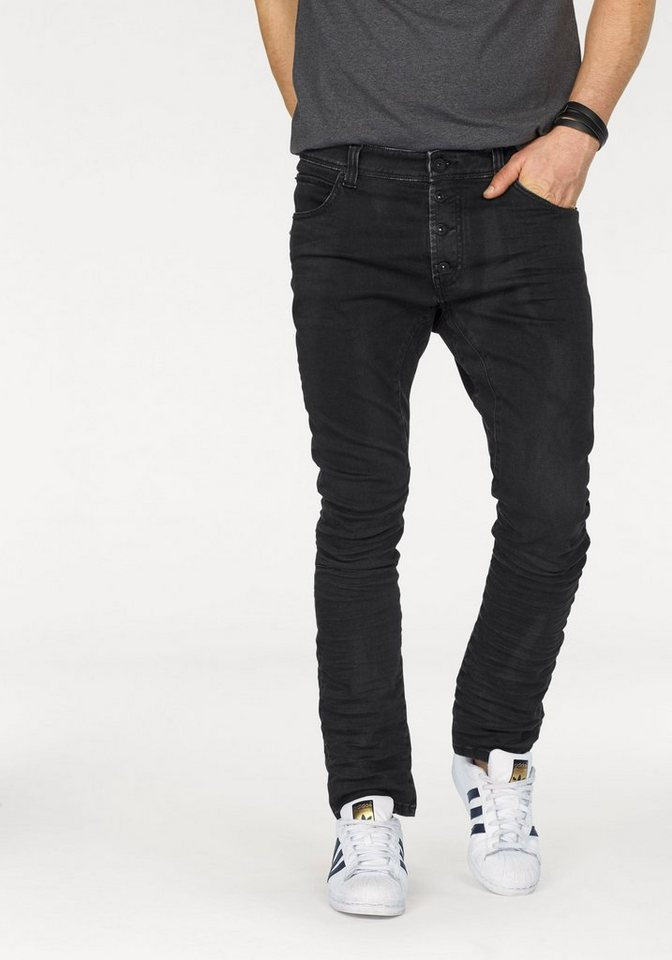 Bruno Banani Jogg Pants »Quinn (Stretch)« in black-washed