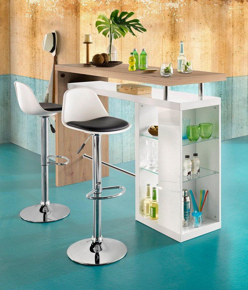 hmw regal bar country breite 157 cm kaufen otto. Black Bedroom Furniture Sets. Home Design Ideas
