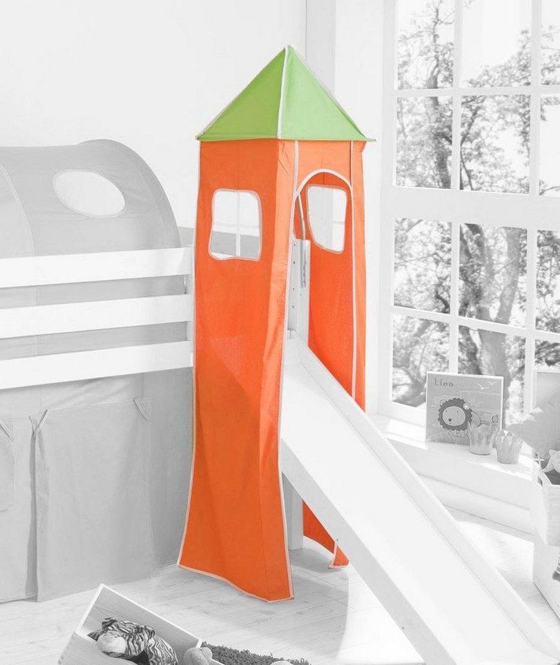 Ticaa Turm in grün-orange
