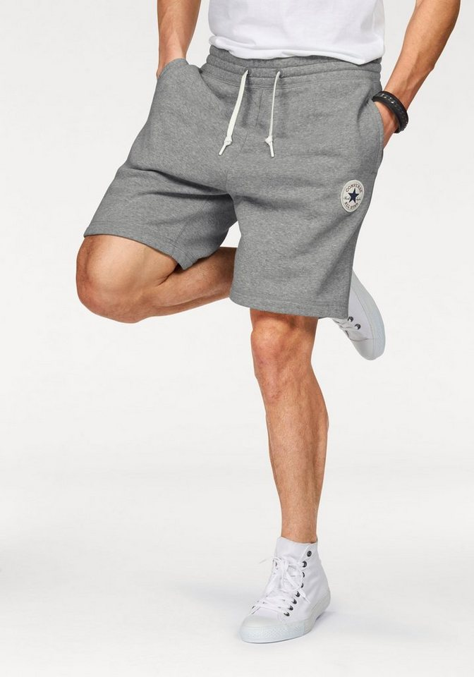 Converse Shorts in grau
