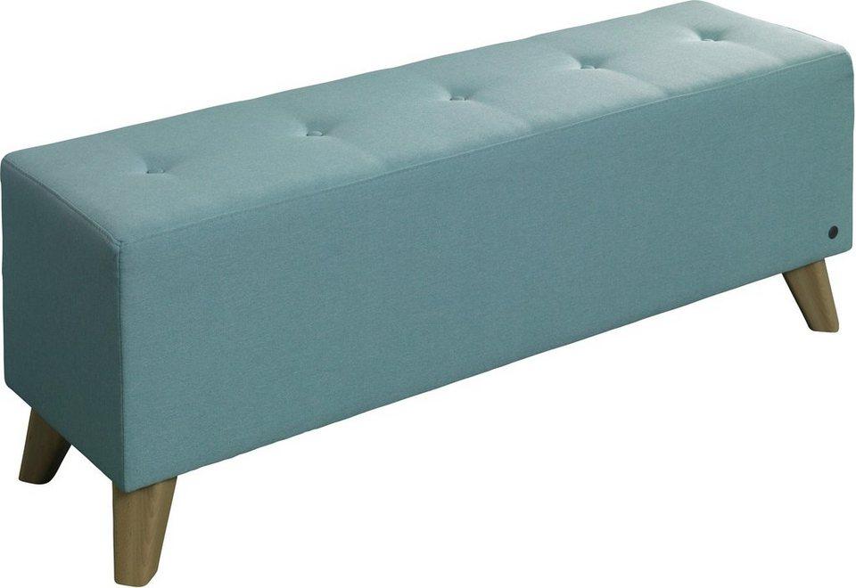 tom tailor hockerbank nordic box mit knopfheftung auf der sitzfl che online kaufen otto. Black Bedroom Furniture Sets. Home Design Ideas