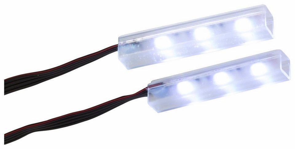 Unterbaubeleuchtungs-Set »712«, (2 Stk.) in chromfarben