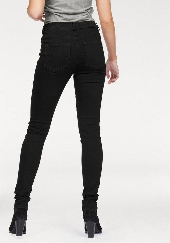 Vero Moda 5-Pocket-Jeans »Seven« in black