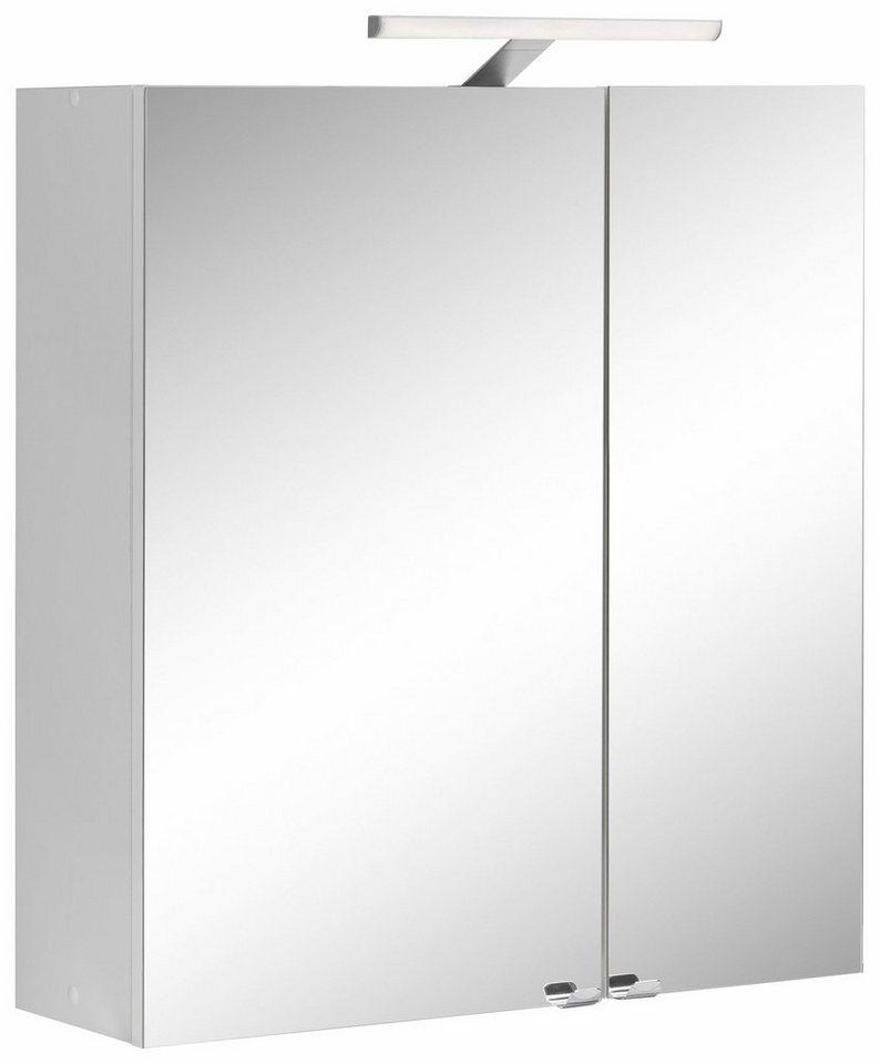 Kesper Spiegelschrank »Visby« in weiß