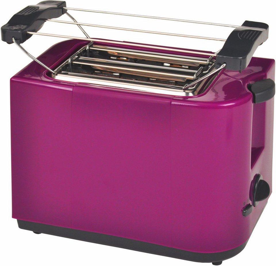 Efbe-Schott Toaster SC TO 5000 PURPUR, für 2 Scheiben, 700 Watt, lila in purpur-lila