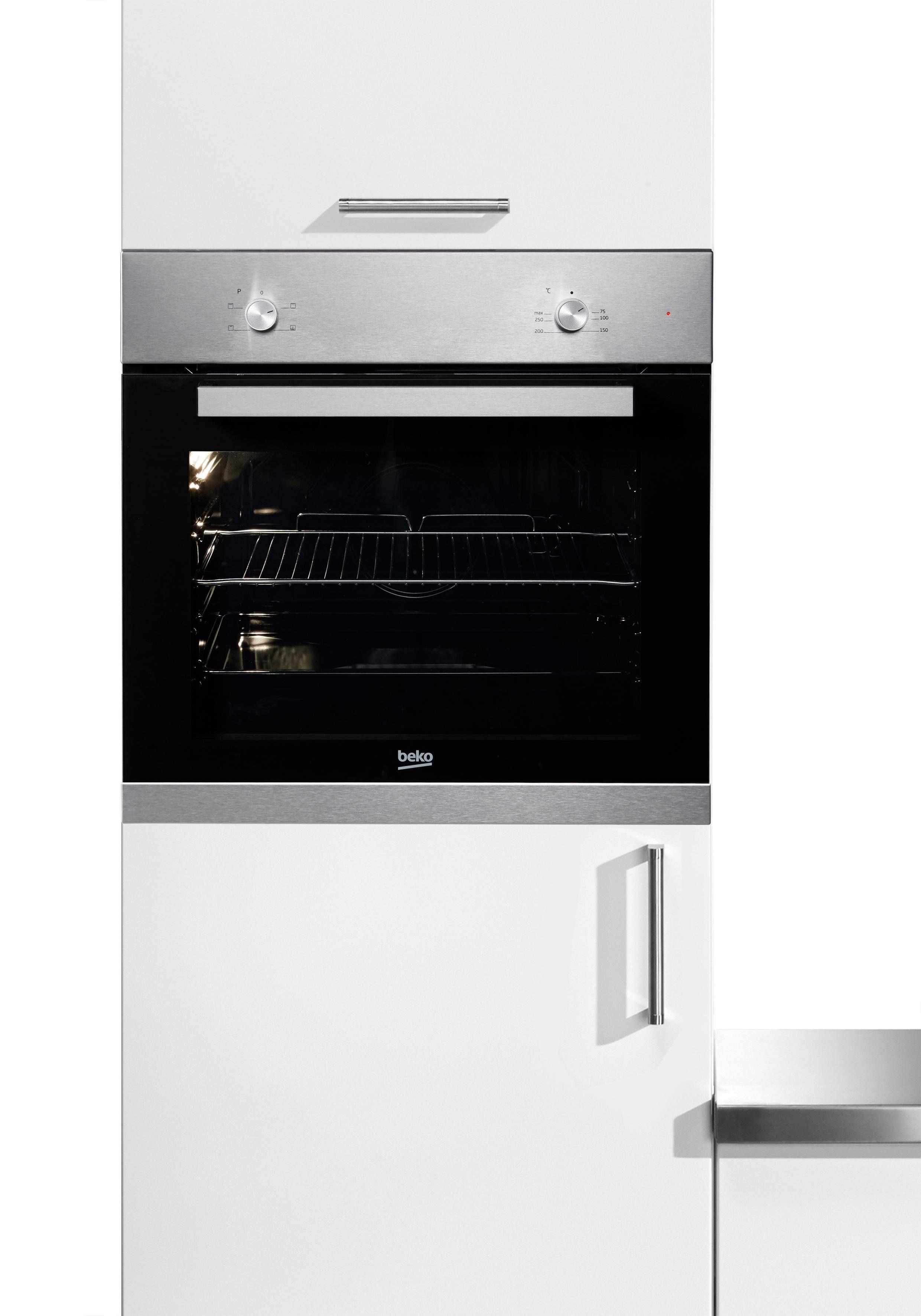 Beko Einbau-Backofen BIC 22000X, Energieklasse A, SimpleSteam