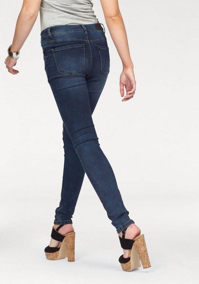 Vero Moda 5-Pocket-Jeans »Seven« in blue-used