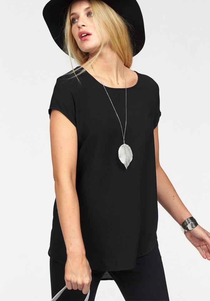 Vero Moda Shirtbluse »Boca« in schwarz