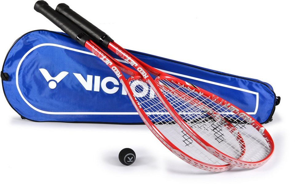 Squash Set, Victor, »Red Jet XT-A Set« in rot