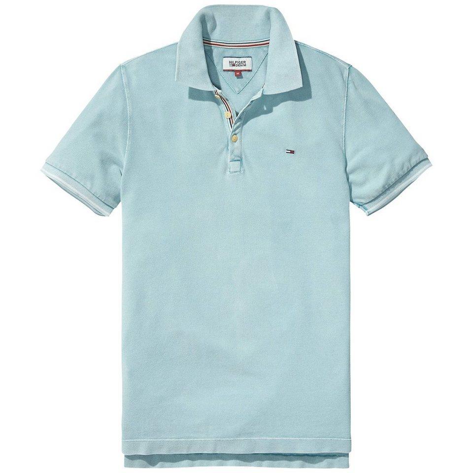 Hilfiger Denim Poloshirts (kurzarm) »G/D polo s/s 2« in BLUE HAZE