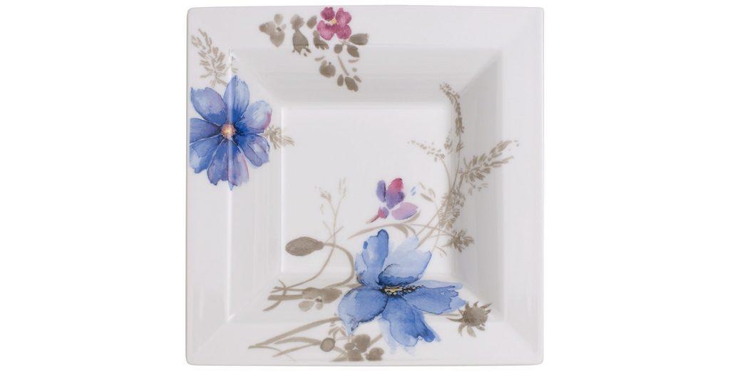 VILLEROY & BOCH Schale Quadrat 14x14cm »Mariefleur Gris Gifts«