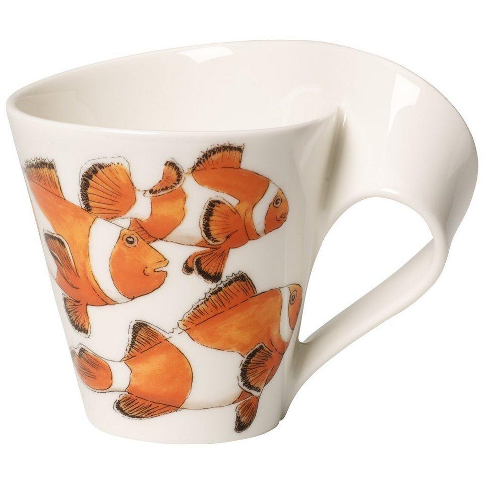 VILLEROY & BOCH Becher mit Henkel »NewWave Caffè Clownfisch« in Dekoriert