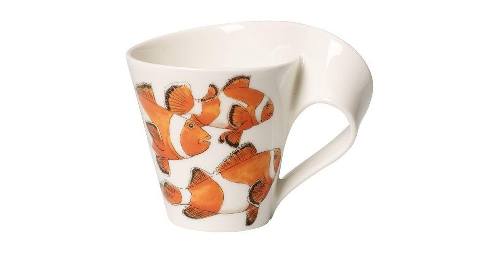 VILLEROY & BOCH Becher mit Henkel »NewWave Caffè Clownfisch«