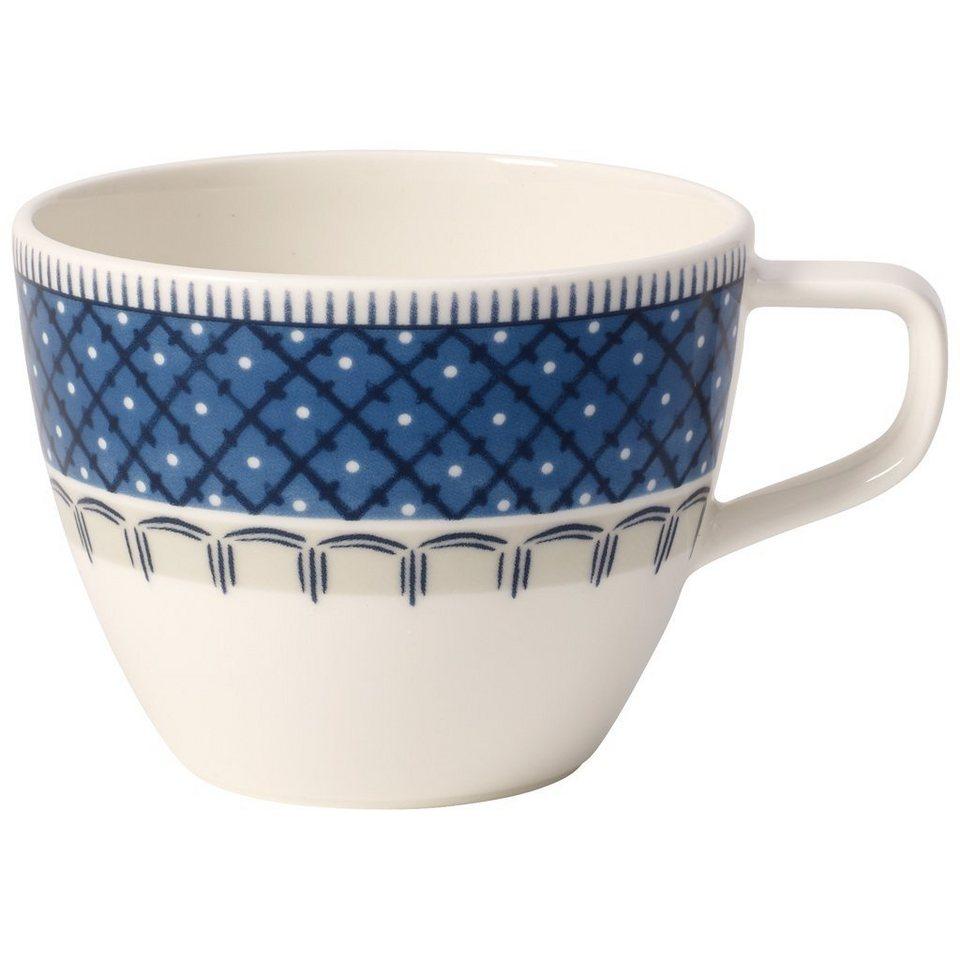 VILLEROY & BOCH Kaffeeobertasse »Casale Blu« in Dekoriert
