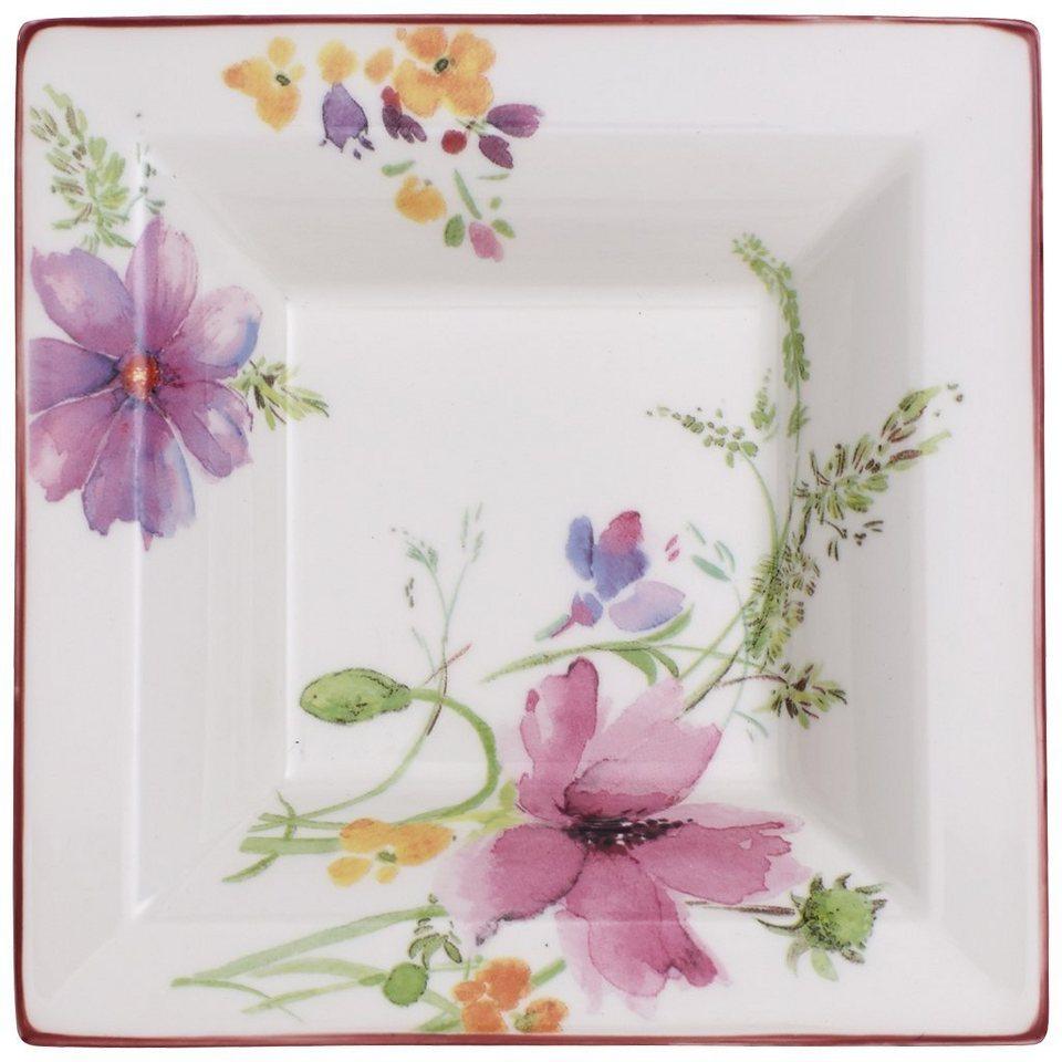 VILLEROY & BOCH Schale Quadrat 14x14cm »Mariefleur Gifts« in Dekoriert