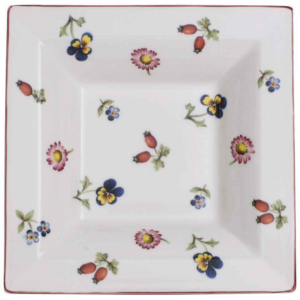 VILLEROY & BOCH Schale Quadrat 14x14cm »Petite Fleur Gifts« in Dekoriert