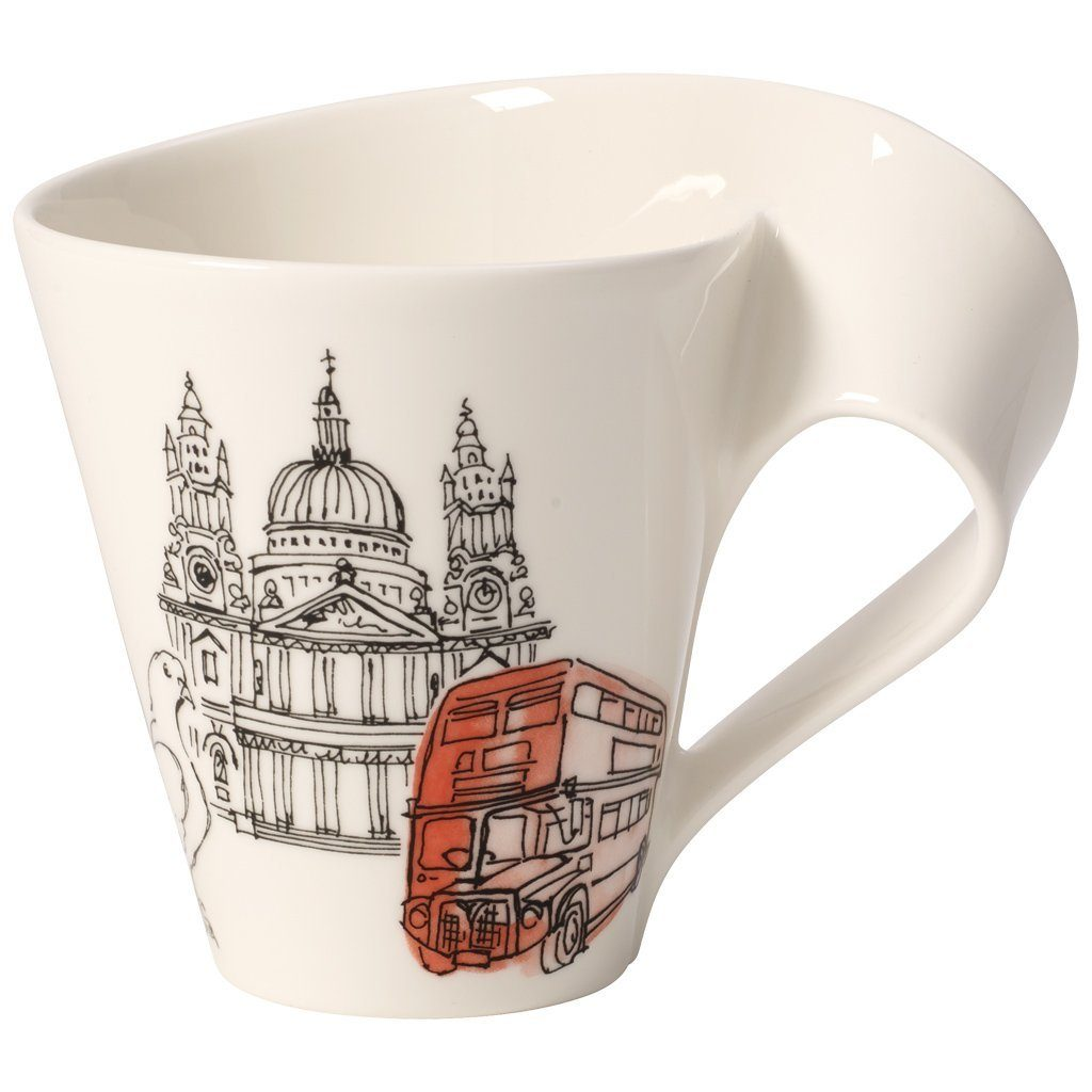 VILLEROY & BOCH Becher mit Henkel London »Cities of the World«