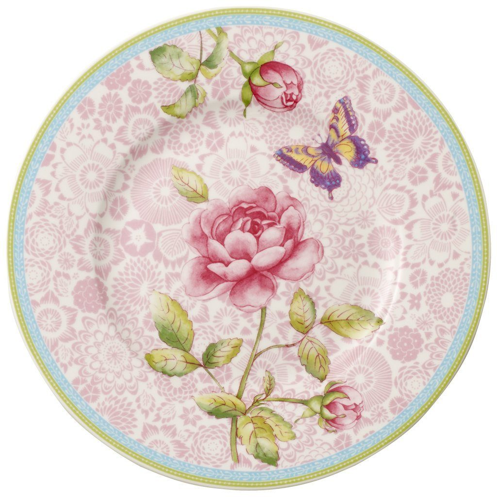 Villeroy & Boch Frühstücksteller - pink 22cm »Rose Cottage«