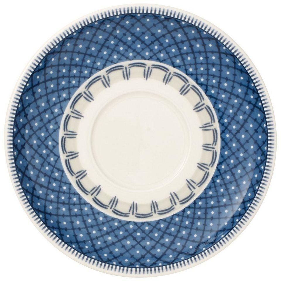 VILLEROY & BOCH Teeuntertasse 16cm »Casale Blu« in Dekoriert