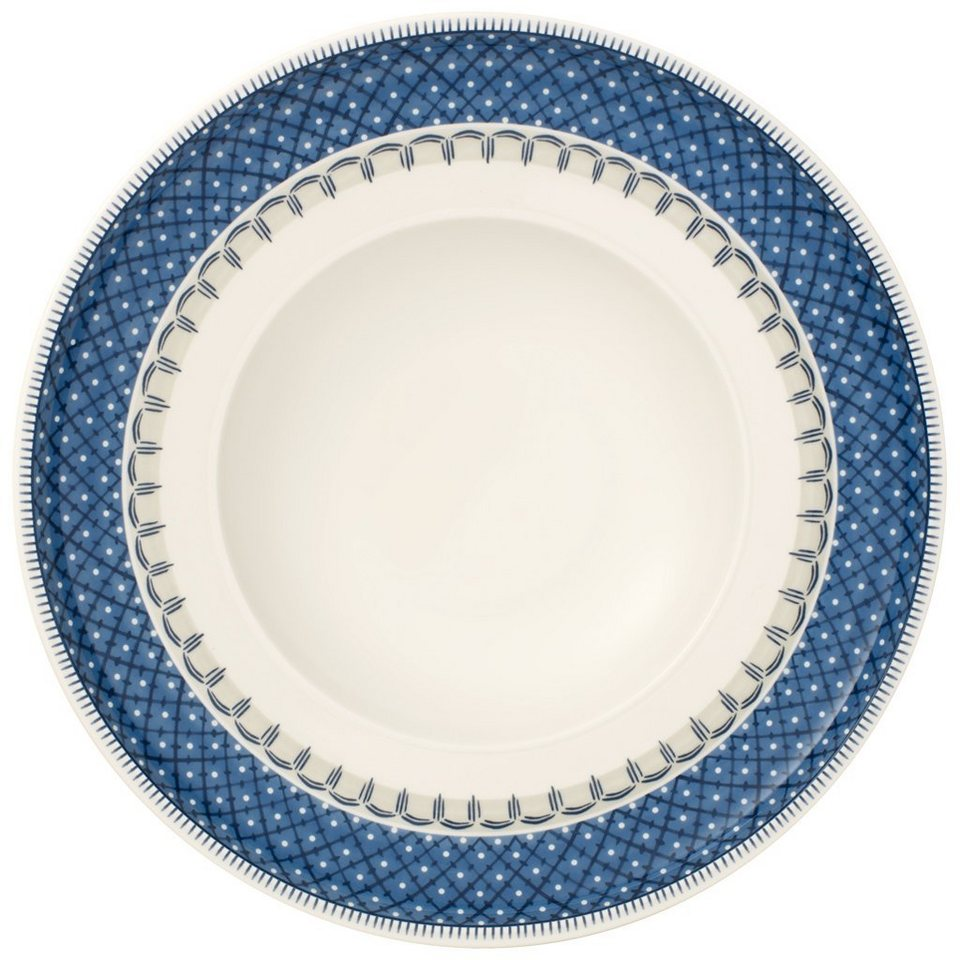 VILLEROY & BOCH Pastateller 30cm »Casale Blu« in Dekoriert