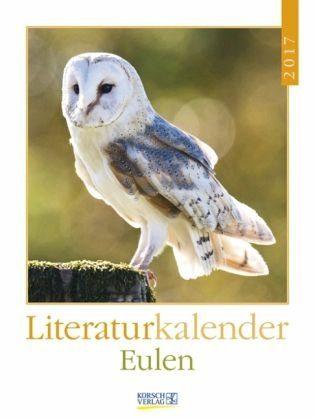 Kalender »Eulen 2017 Literatur-Wochenkalender«