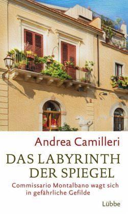 Gebundenes Buch »Das Labyrinth der Spiegel / Commissario...«