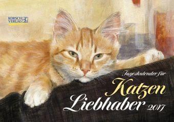 Kalender »Tageskalender für Katzenliebhaber 2017«