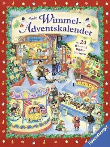 Kalender »Mein Wimmel-Adventskalender«