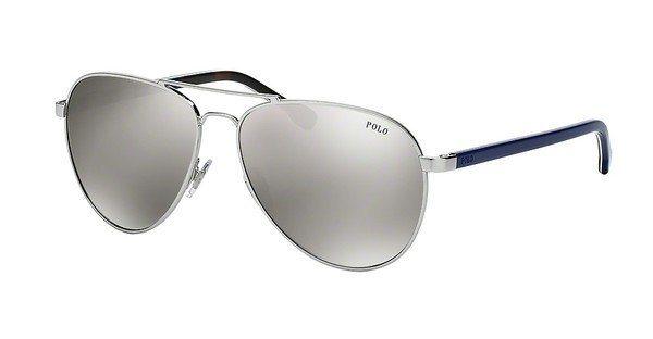Polo Herren Sonnenbrille » PH3090« in 92768V - silber/ silber