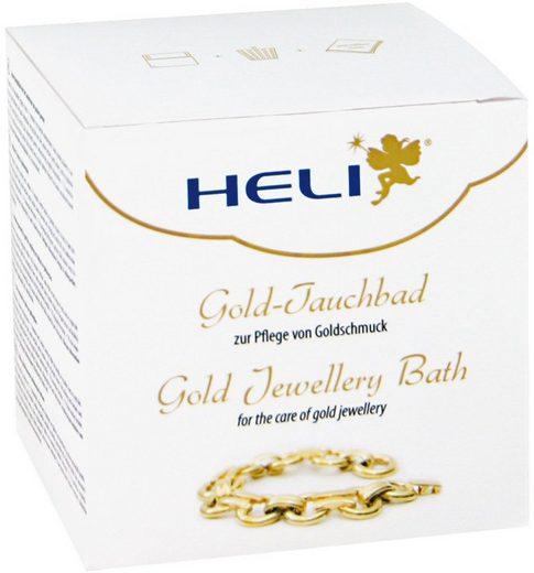 HELI »141278« Gold-Tauchbad, enthält ein Tauchsieb sowie zusätzlich ein Mikrofaserpflegetuch