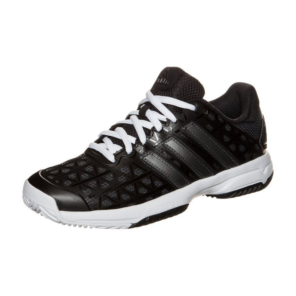 adidas Performance Barricade Club Tennisschuh Kinder in schwarz / weiß