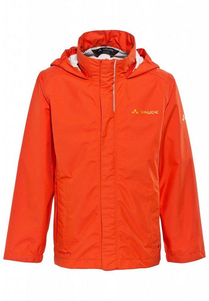 VAUDE Outdoorjacke »Escape Light Jacket Kids 2,5L« in orange