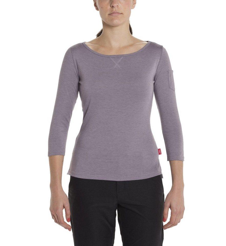Giro Pullover »Mobility T-Shirt 3/4 Shirt Women« in lila