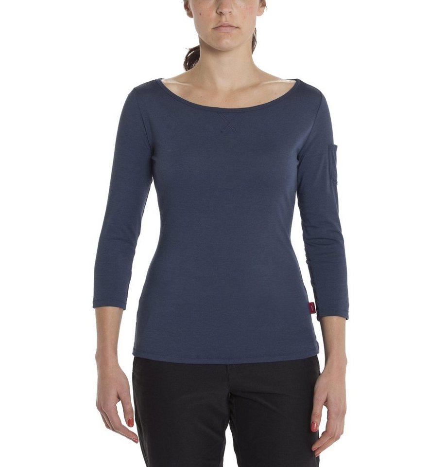 Giro Pullover »Mobility T-Shirt 3/4 Shirt Women« in blau