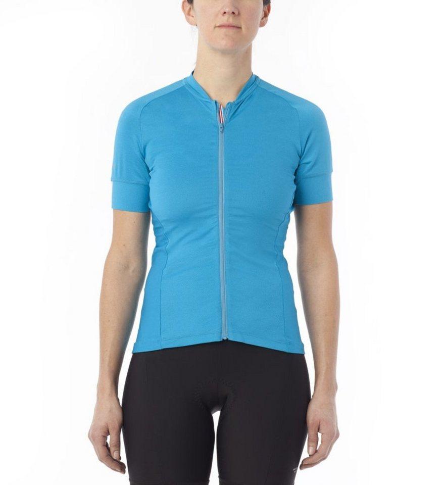 Giro Radtrikot »Ride LT Jersey Women« in blau