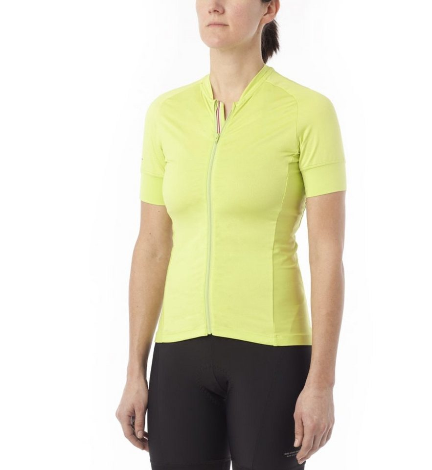 Giro Radtrikot »Ride LT Jersey Women« in gelb