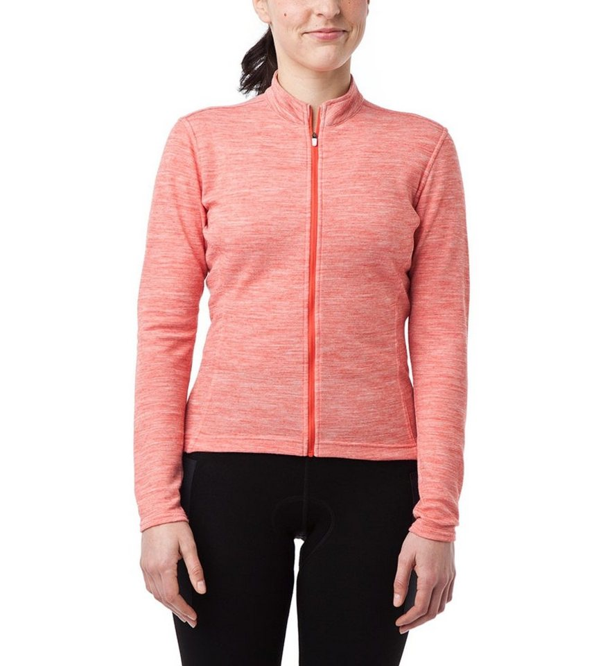Giro Radtrikot »Ride Jersey LS Women Full Zip« in orange