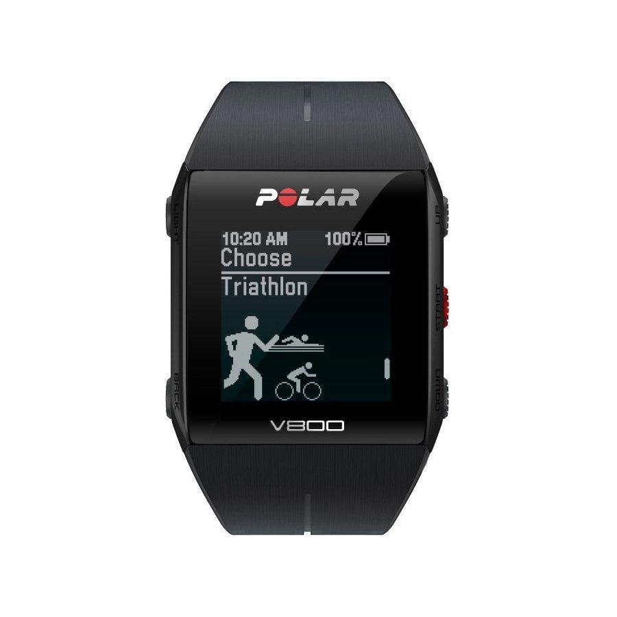 Polar Fitnesstracker »V800 GPS-Sportuhr« in schwarz