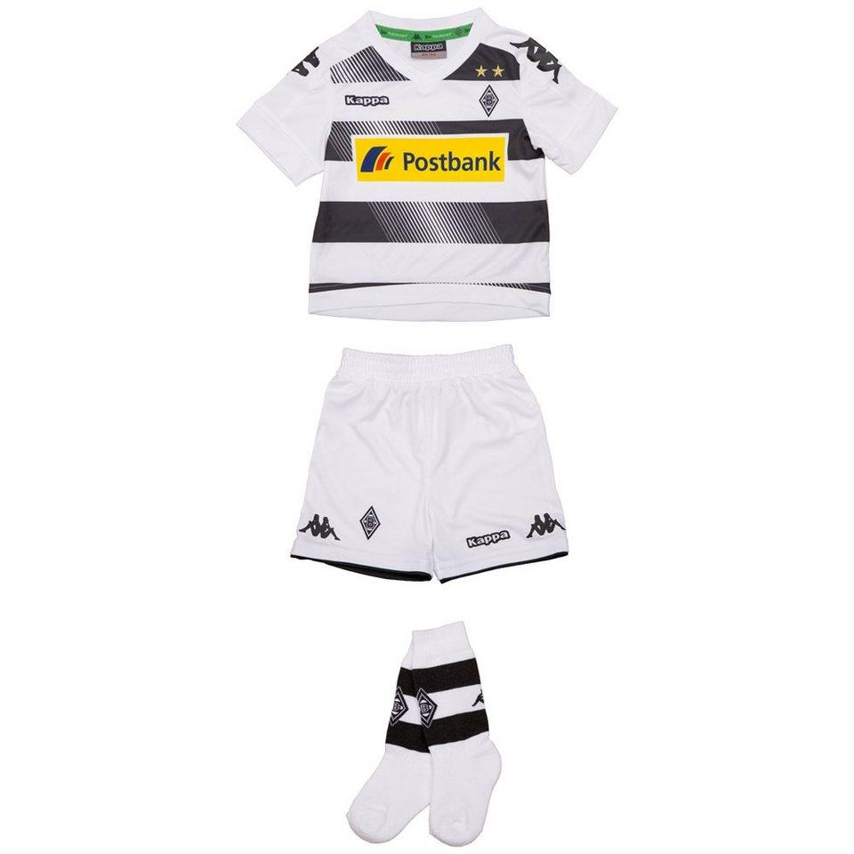 KAPPA Trikot-Set »Borussia Mönchengladbach Mini Trikot Set 16-17« in white