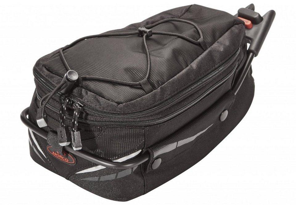 Norco Gepäckträgertasche »Ontario Sattelstütztasche schwarz«