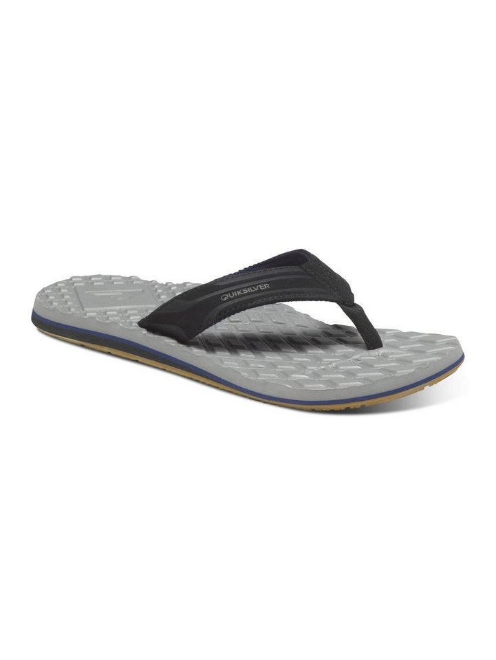 Quiksilver Sandalen »Monkey Texture« in black/grey/blue