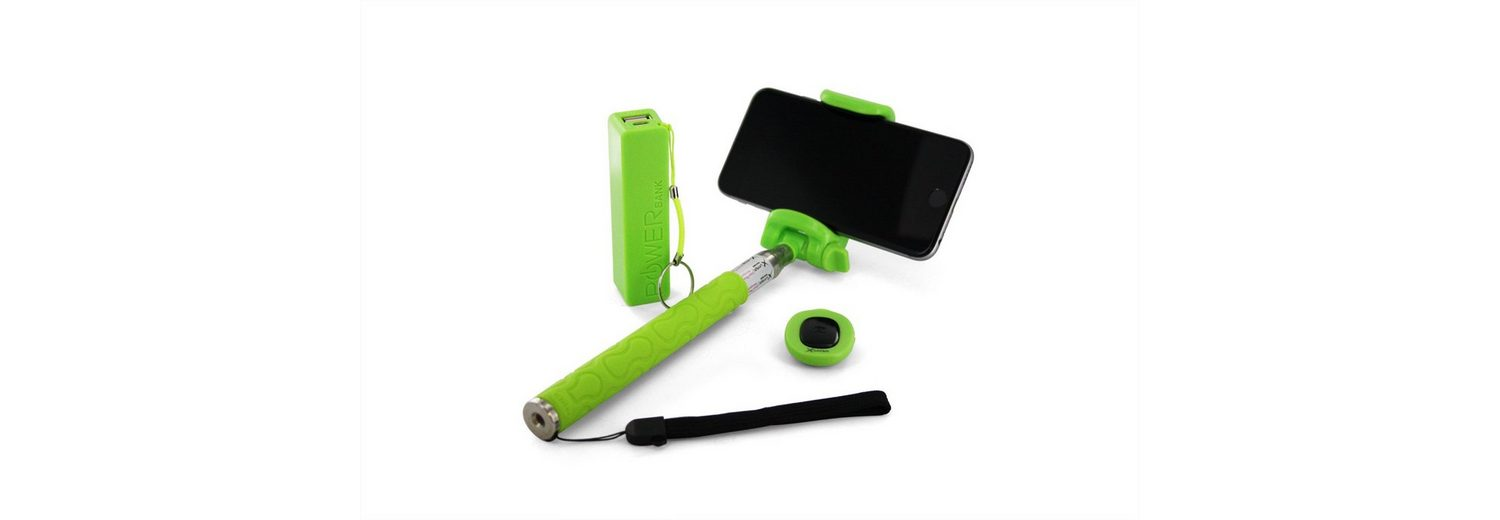 XLayer XLayer »plus Powerbank 2600mAh/Bluetooth Auslöser Green«