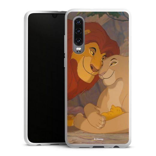 DeinDesign Handyhülle »Lion Love« Huawei P30, Hülle König der Löwen Disney Offizielles Lizenzprodukt