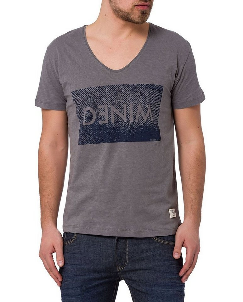 CROSS Jeans ® T-Shirt in dark grey