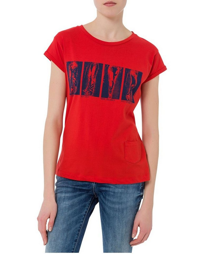 CROSS Jeans ® T-Shirt in vintage red