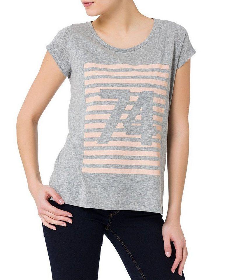 CROSS Jeans ® T-Shirt in grey melange
