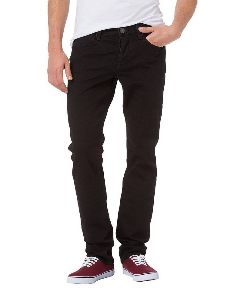 CROSS Jeans ® Jeans »Dylan« in black crincle